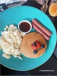 Breakfast In Lagos - Waffle Sandwich Vs Buttermilk Pancakes In Lekki ...