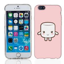 Apple iPhone 5 5S Cute Marshmallow cover Cell Cases USA
