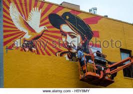 Joe Strummer Mural East Village by Mural In New York City U0027s East Village For Clash Guitarist Joe