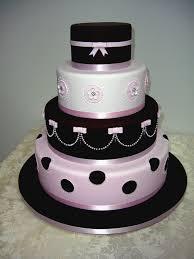 Magazine Cover Design The is a copy of a cake originally designed by Dream Cake Pink Black WeddingsBlack