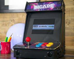assembled raspberry pi arcade cabinet picade retropie