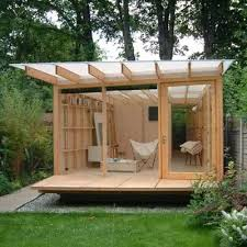 20 Creatively Hacked Urban Garden Shed fices