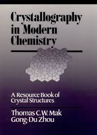 crystallography in modern chemistry a resource book of