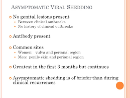 Herpes Viral Shedding Test by Update Herpes Simplex Virus Infection Ppt Video Online