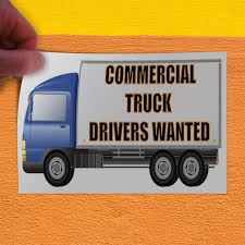 100 Truck Drivers Wanted Amazoncom Commercial 1 Indoor Store Sign