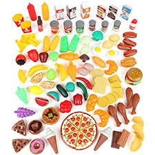 Step2 Kitchens U0026 Play Food by Amazon Com Play Food Set For Kids U0026 Toy Food For Pretend Play