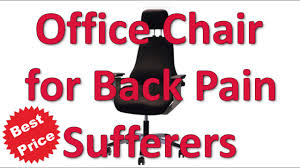 Best Office Chair For Back Pain Sufferers - YouTube Desks Best Armchair For Back Support Chairs Pain Budget Office Chair Smartness Design Remarkable Cool Lovely Images On Pinterest Kneeling Armchairs Suffers Herman Miller Embody Living Room Computer Horse Saddle Top Rated Ergonomic Friendly Lounge Lower