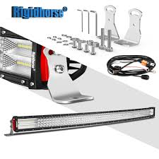 Rigidhorse Curved Quad Row LED Light Bar 52Inch 924W Flood Spot ... Poppap 300w Light Bar For Cars Trucks Boat Jeep Off Road Lights Automotive Lighting Headlights Tail Leds Bulbs Caridcom Lll203flush 3 Inch Flush Mount 20 Watt Lifetime 4pcs Led Pods Flood 5 24w 2400lm Fog Work 4x 27w Cree For Truck Offroad Tractor Wiring In Dodge Diesel Resource Forums Best Wrangler All Your Outdoor 145 55w 5400 Lumens Super Bright Nilight 2pcs 18w Led Yitamotor 42 400w Curved Spot Combo Offroad Ford Ranger