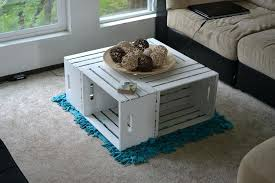 Coffee Table Craft Ideas A Crate Adds Lot Of Character To Any