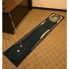 Indoor Golf Mat Putting Green Rug Training Aid Golfing Practice