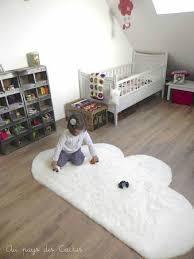 tapis chambre enfant ikea diy un tapis nuage deco trendy a t e l i e r