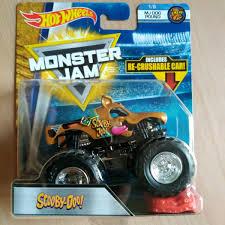 Hotwheels Monster Jam Scooby Doo Hotwheels 2018