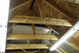 insulated attic trusses shop pinterest attic truss