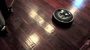 Roomba Hardwood Floor Mop by Roomba 980 Vacuuming Braava 320 Mopping Youtube