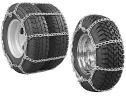 Glacier Twist-Link Snow Tire Chains With Cam Tighteners For Wide ...