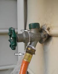 11 anti siphon faucet leak aztec sun disk photo by