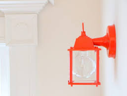 Chic And Bold DIY Wall Lanterns From Usual Ones