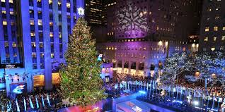Rockefeller Christmas Tree Lighting 2018 by 8 Most Beautiful Christmas Trees In America Hd Wallpapers Gifs