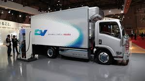 Isuzu Developing Light-duty N-series Electric Truck For Urban Operation