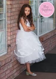 flower girl dresses amelina flower girl dress ruffled