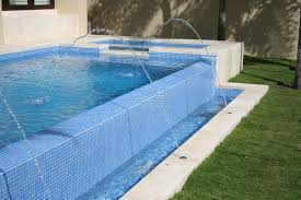glass mosaic pool tiles residential swimming pools