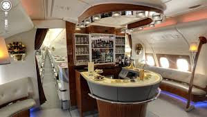 Google Maps takes you inside an Emirates Airbus A380 Australian