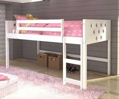 Canwood Whistler Junior Loft Bed White by Low Loft Beds Twin Size Circles Low Loft Bed In White Finish