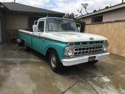 100 1965 Ford Truck For Sale F100 For ClassicCarscom CC970977