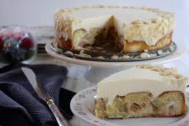 rhabarber marzipan torte einfaches und leckeres