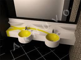 acrylbank und oberfläche badezimmer bank
