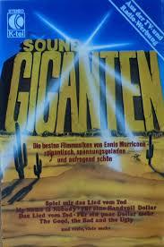 ennio morricone sound giganten cassette discogs