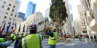 Christmas Tree Rockefeller 2017 by Rockefeller Center Christmas Tree Arrives In Nyc