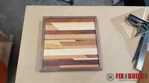 DIY Small Wooden Wall Art 21