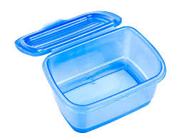 Empty Lunch Box Stock Image Of Meal Horizontal
