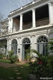Colonial Architecture Pondicherry Is Situated On Indias East Coast An Indian Town With French