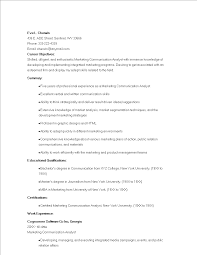 Marketing Communications Analyst Resume | Templates At ... Research Essay Paper Buy Cheap Essay Online Sample Resume Good Example Of Skills For Resume Awesome Section Communication Phrases Visual Communications Samples Velvet Jobs Fresh Skill Leave Latter Best Specialist Livecareer How To Make Your Ot Stand Out Potential Barraquesorg Examples 12 Proposal 20 Effective For Rumes Workplace Ptp Sample Mintresume