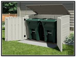 Home Depot Storage Sheds 8x10 by Garbage Can Storage Shed Home Depot Home Design Ideas