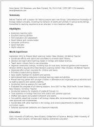 Military Experience On Resume How To Write A With Of