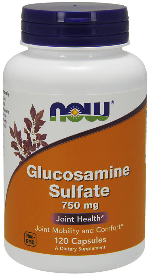 Now Foods Glucosamine Sulfate 750mg Capsules - x120