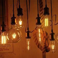 antique led edison bulb l vintage filament light e27 4w 6w 8w