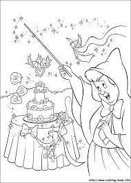 Cinderella Coloring Picture Disney PagesWedding