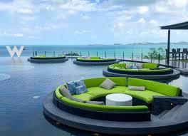 100 W Hotel Koh Samui Thailand W Hotel