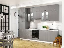 landhausküche lora küchenzeile 240 cm 8 teilig im landhausstil