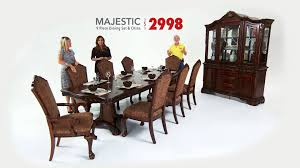 Raymour And Flanigan Dining Room Tables by Majestic Dining Room Sets Bob U0027s Discount Furniture Youtube