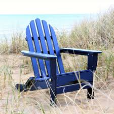 Navy Blue Adirondack Chairs Plastic by Durogreen Adirondack Chair Durogreen Collections
