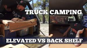 Pickup Truck Sleeping Platform Setup: Elevated Sleeping Platform Vs ...
