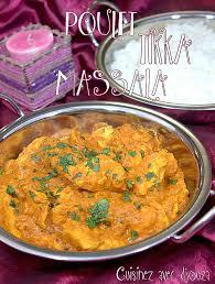 cuisine indienne poulet poulet tikka massala sauce au yaourt recettes faciles recettes