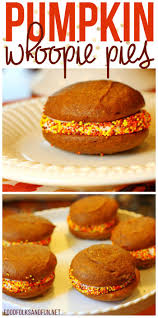Pumpkin Whoopie Pies Gluten Free by Pumpkin Whoopie Pies Food Folks And Fun