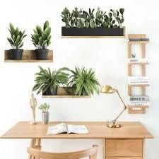 grün pflanze blatt wand sticker heim schlafzimmer dekoration