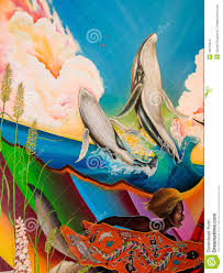 Denver Colorado Airport Murals by Children Of The World Dream Of Peace Editorial Stock Image Image